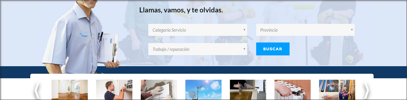Directorio web automatizado