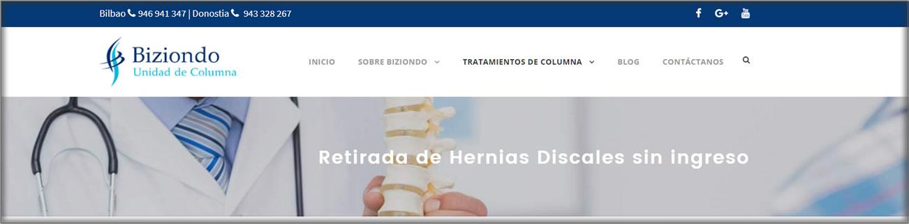 Web Médicos de Espalda
