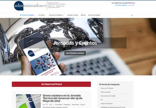 Web e Intranet de Colegio Profesional
