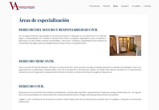 Web Despacho Abogados