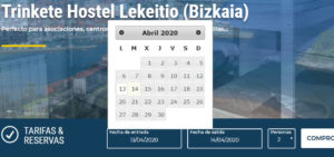 Calendarios de reservas