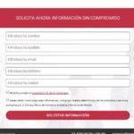 Formularios de contacto de CRM externo integrados