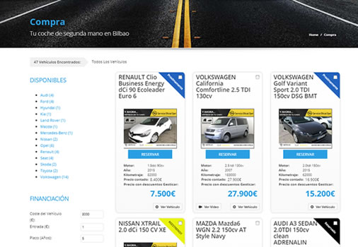 Integración de Paypal para reserva de coches online