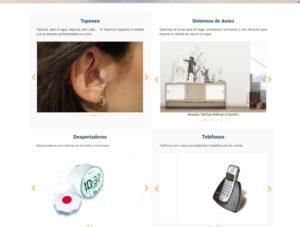 Imágenes de productos ofrecidos