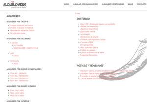 Mapa web para ayudar a SEO