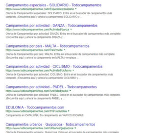 Personalización de descripciones y títulos en Google