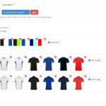 Múltiples variavioes de color por producto