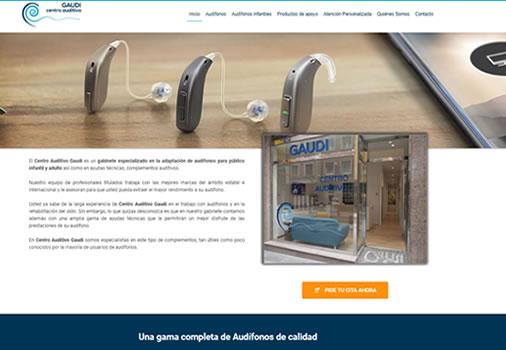 Web para gabinete audiológico