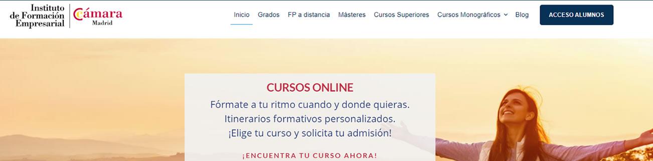 Catálogo de cursos online